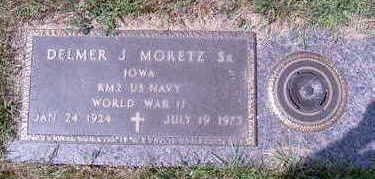 MORETZ, DELMER JOHN SR - Cerro Gordo County, Iowa   DELMER JOHN SR MORETZ