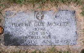 MORETZ, HUBERT GUY - Cerro Gordo County, Iowa | HUBERT GUY MORETZ