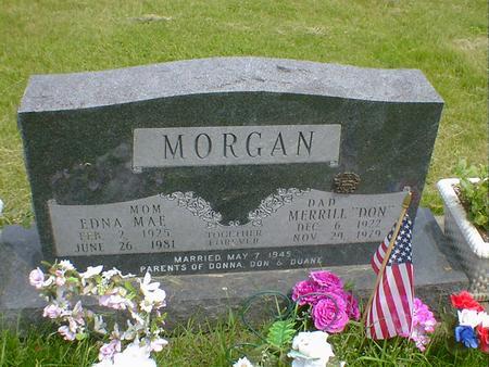 MORGAN, EDNA MAE - Cerro Gordo County, Iowa | EDNA MAE MORGAN