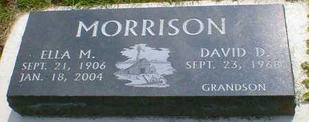 MORRISON, ELLA M. - Cerro Gordo County, Iowa | ELLA M. MORRISON