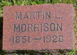 MORRISON, MARTIN L. - Cerro Gordo County, Iowa | MARTIN L. MORRISON