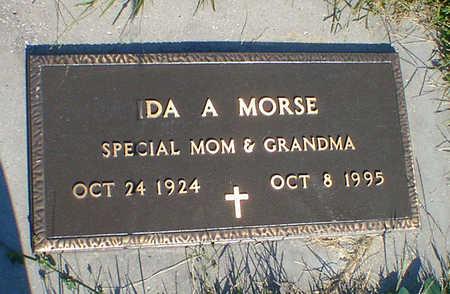 MORSE, IDA A. - Cerro Gordo County, Iowa | IDA A. MORSE