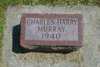 MURRAY, CHARLES HENRY - Cerro Gordo County, Iowa | CHARLES HENRY MURRAY