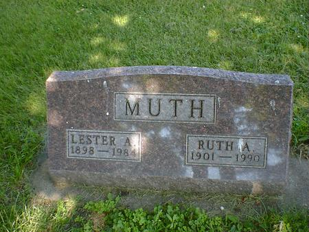 MUTH, RUTH A. - Cerro Gordo County, Iowa | RUTH A. MUTH