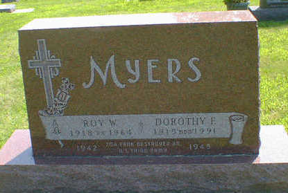 MYERS, ROY W. - Cerro Gordo County, Iowa | ROY W. MYERS