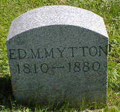 MYTTON, ED. M. - Cerro Gordo County, Iowa | ED. M. MYTTON