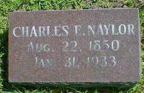 NAYLOR, CHARLES E. - Cerro Gordo County, Iowa | CHARLES E. NAYLOR