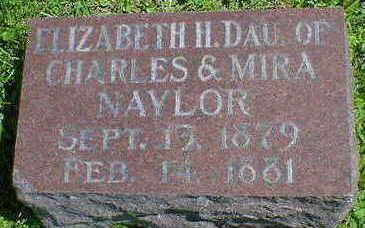NAYLOR, ELIZABETH H. - Cerro Gordo County, Iowa | ELIZABETH H. NAYLOR