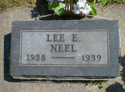 NEEL, LEE E. - Cerro Gordo County, Iowa | LEE E. NEEL