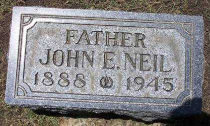 NEIL, JOHN E. - Cerro Gordo County, Iowa | JOHN E. NEIL