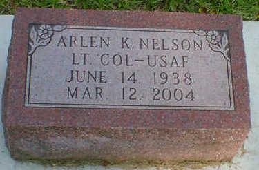 NELSON, ARLEN K. - Cerro Gordo County, Iowa   ARLEN K. NELSON