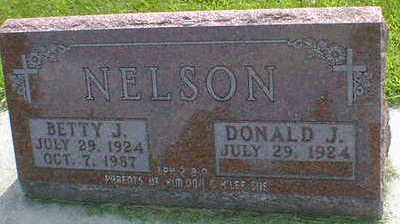 NELSON, BETTY J. - Cerro Gordo County, Iowa   BETTY J. NELSON