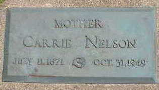 NELSON, CARRIE - Cerro Gordo County, Iowa   CARRIE NELSON