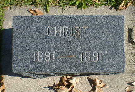NELSON, CHRIST - Cerro Gordo County, Iowa | CHRIST NELSON