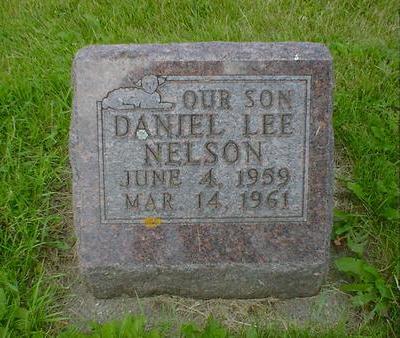 NELSON, DANIEL LEE - Cerro Gordo County, Iowa   DANIEL LEE NELSON