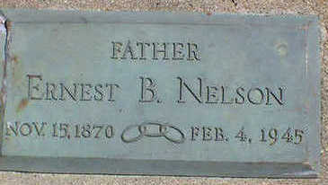 NELSON, ERNEST B. - Cerro Gordo County, Iowa | ERNEST B. NELSON