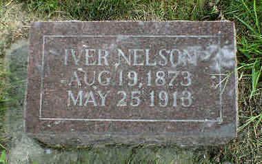 NELSON, IVER - Cerro Gordo County, Iowa | IVER NELSON