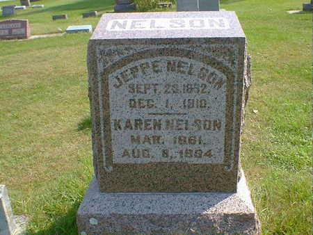 NELSON, KAREN - Cerro Gordo County, Iowa   KAREN NELSON