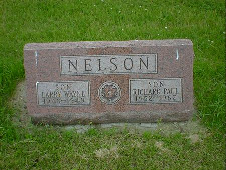 NELSON, RICHARD PAUL - Cerro Gordo County, Iowa | RICHARD PAUL NELSON
