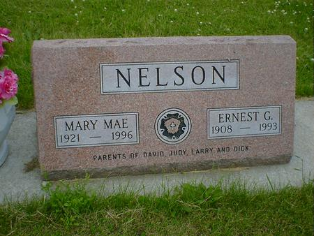NELSON, MARY MAE - Cerro Gordo County, Iowa | MARY MAE NELSON