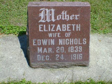 NICHOLS, ELIZABETH - Cerro Gordo County, Iowa | ELIZABETH NICHOLS