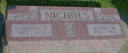 NICHOLS, GORDON A. - Cerro Gordo County, Iowa | GORDON A. NICHOLS