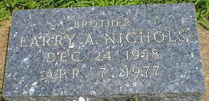 NICHOLS, LARRY A. - Cerro Gordo County, Iowa | LARRY A. NICHOLS