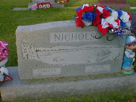 NICHOLS, WILLIE - Cerro Gordo County, Iowa | WILLIE NICHOLS