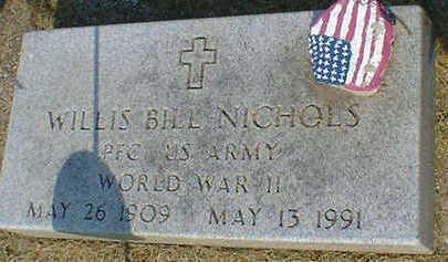 NICHOLS, WILLIS BILL - Cerro Gordo County, Iowa | WILLIS BILL NICHOLS