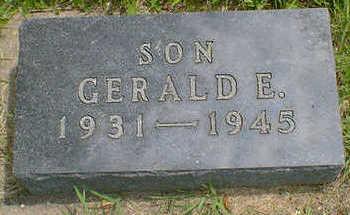 NICKERSON, GERALD E. - Cerro Gordo County, Iowa | GERALD E. NICKERSON