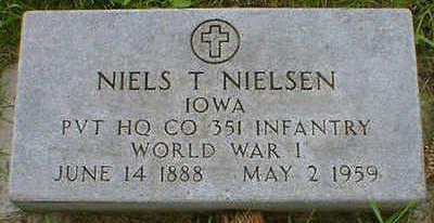 NIELSEN, NIELS T. - Cerro Gordo County, Iowa   NIELS T. NIELSEN