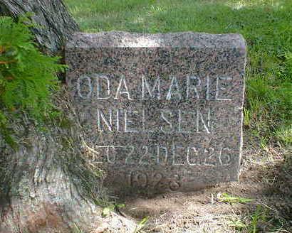 NIELSEN, ODA MARIE - Cerro Gordo County, Iowa | ODA MARIE NIELSEN