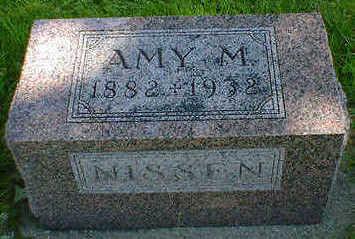 NISSEN, AMY M. - Cerro Gordo County, Iowa | AMY M. NISSEN