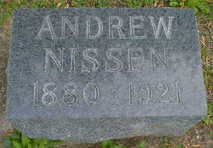 NISSON, ANDREW - Cerro Gordo County, Iowa | ANDREW NISSON