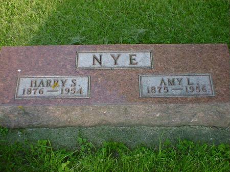 NYE, HARRY S. - Cerro Gordo County, Iowa | HARRY S. NYE