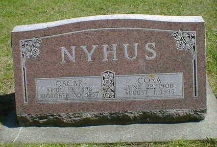 NYHUS, OSCAR - Cerro Gordo County, Iowa | OSCAR NYHUS