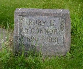 O'CONNER, RUBY E. - Cerro Gordo County, Iowa   RUBY E. O'CONNER