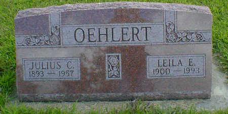 OEHLERT, JULIUS C. - Cerro Gordo County, Iowa | JULIUS C. OEHLERT