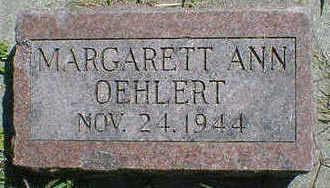 OEHLERT, MARGARETT ANN - Cerro Gordo County, Iowa | MARGARETT ANN OEHLERT