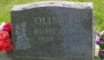 ZOBEL OLINGER, RUTH - Cerro Gordo County, Iowa | RUTH ZOBEL OLINGER