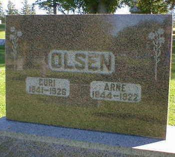 OLSEN, GURI - Cerro Gordo County, Iowa | GURI OLSEN