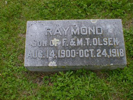 OLSEN, RAYMOND - Cerro Gordo County, Iowa | RAYMOND OLSEN