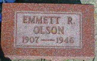 OLSON, EMMETT R. - Cerro Gordo County, Iowa | EMMETT R. OLSON
