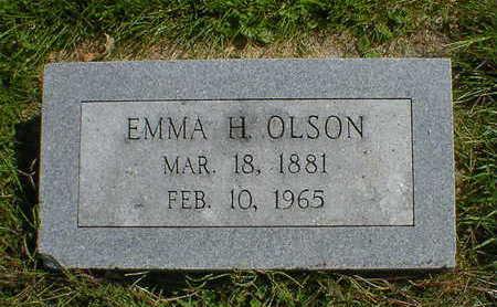 OLSON, EMMA H. - Cerro Gordo County, Iowa   EMMA H. OLSON