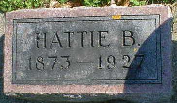 OLSON, HATTIE B. - Cerro Gordo County, Iowa | HATTIE B. OLSON