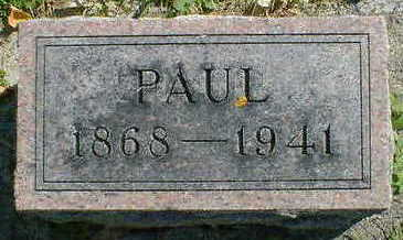 OLSON, PAUL - Cerro Gordo County, Iowa | PAUL OLSON