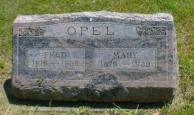 OPEL, MARY - Cerro Gordo County, Iowa | MARY OPEL