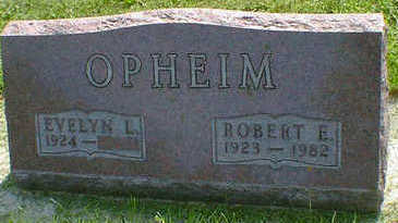 OPHEIM, ROBERT E. - Cerro Gordo County, Iowa | ROBERT E. OPHEIM
