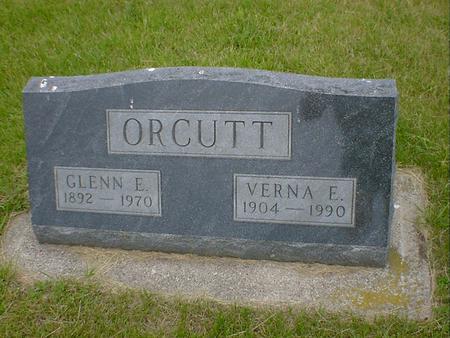 ORCUTT, VERNA E. - Cerro Gordo County, Iowa | VERNA E. ORCUTT