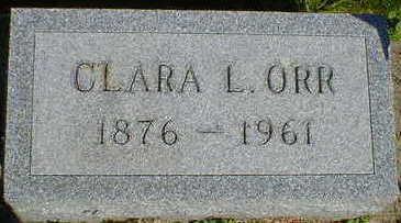 ORR, CLARA L. - Cerro Gordo County, Iowa | CLARA L. ORR